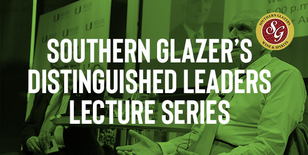 Southern glazer's distinguished leaders lecture series