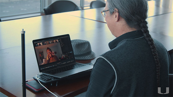 Senior lecturer Richard Myers is turning to tools like Blackboard, Zoom, Swivl, and Google Docs to keep students engaged in discussions, organized with document submission, and actively collaborating with each other.