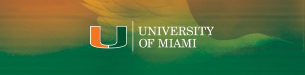 University of Miami footer