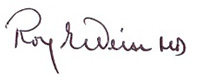 Roy E. Weiss signature