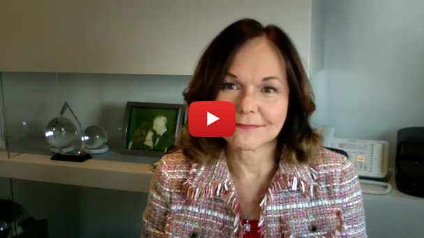 A video message from Hilarie Bass, Board of Trustees chair