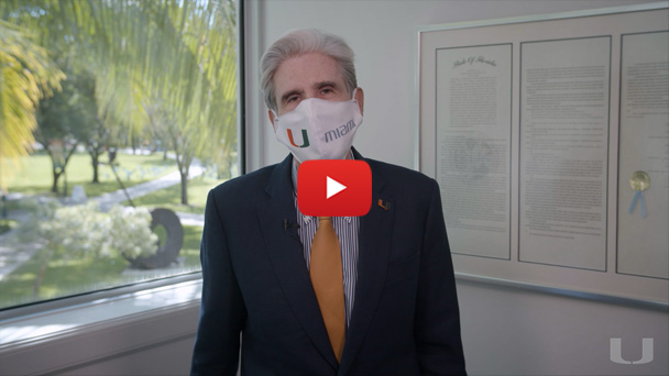 A video message from President Frenk