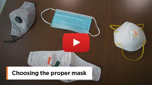 Choosing the proper mask