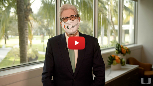 A video message from President Julio Frenk