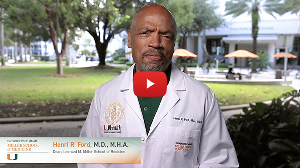 Dean Henri Ford invites you to enjoy the fall edition of the University of Miami Medicine magazine.
